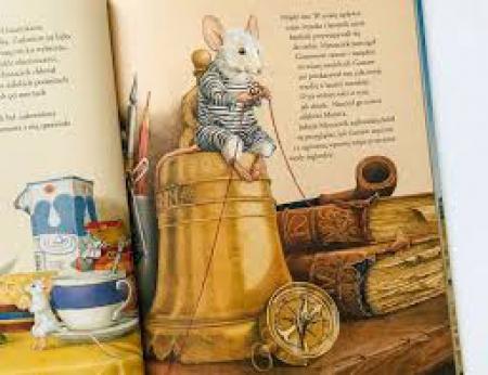 Myszaczek. Nieprawdopodobne przygody maleńkiej myszki o sercu lwa. Max Kaplan L
