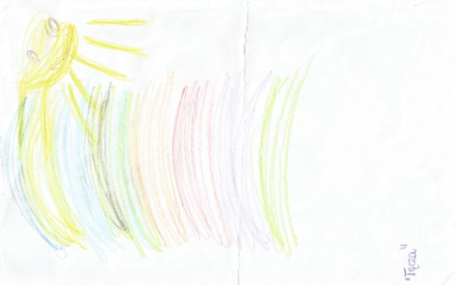 Kolorowa Tęcza - autor Aleksandra