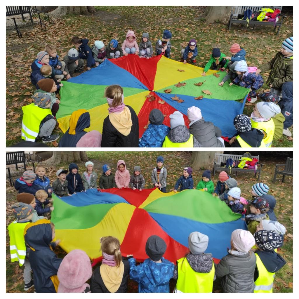 Piknik w Parku Staromiejskim - Gr. 2 i Gr. 4
