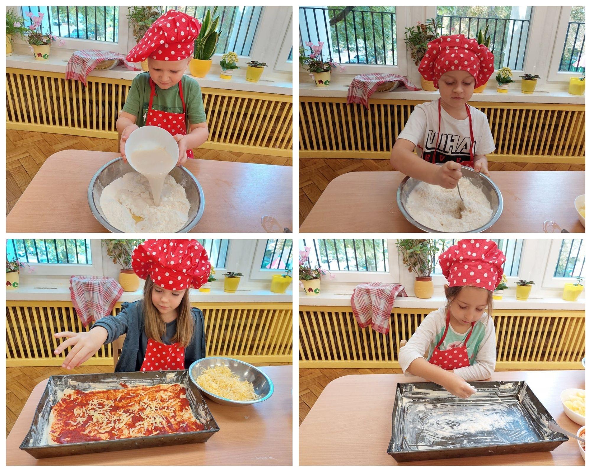 Pychotkowo - pyszna pizza - Gr. 4 - Baczki -