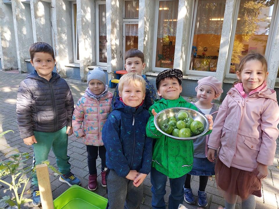 Rada Dziecięca - Zbiory w naszym ogrodzie