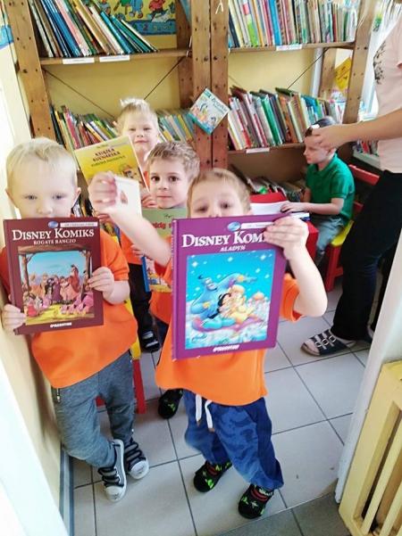 Biblioteka przedszkolaka - Biedronki